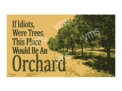 HHU035 – This Place Would Be An Orchard 14″x8″