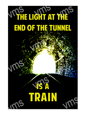 HHU045 – Light At End Of The Tunnel – 8″x12″