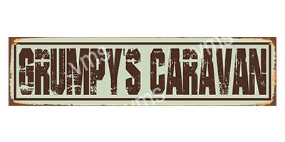 HHU051 – Grumpy's Caravan – 18″x4.5″