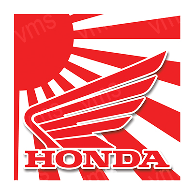 HON001 – Wings Logo – 12″x12″
