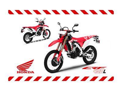 HON003 – CRF 450 18″x12″