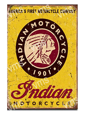 IND002 – Motorcycle Logo 12″x18″