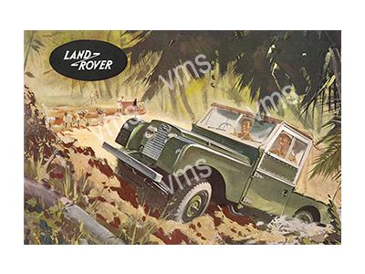 LR004 – Hill Climber – 12″x8″
