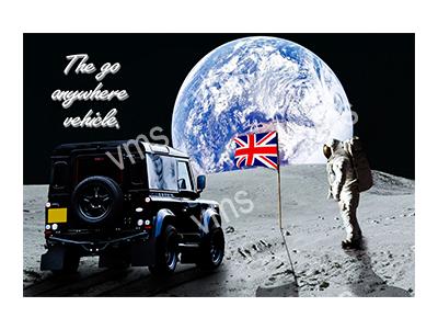 LR008 – Moon Landing – 18″x12″