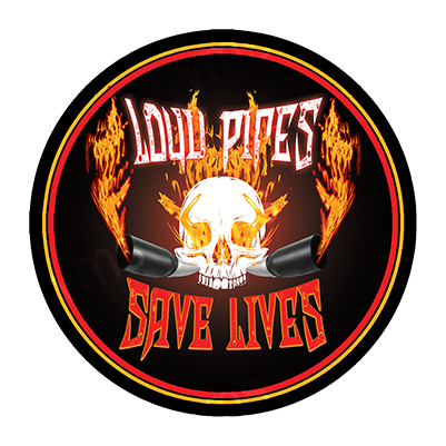 MBH009 – Loud Pipes Save Lives – 14″ Round