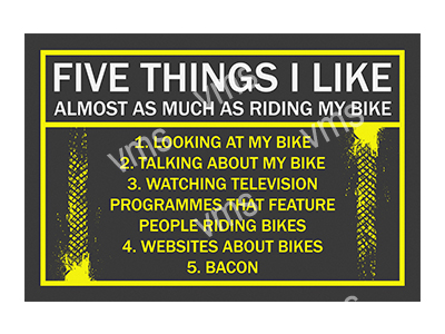 MBH010 – Five Things I Like – 12″x8″