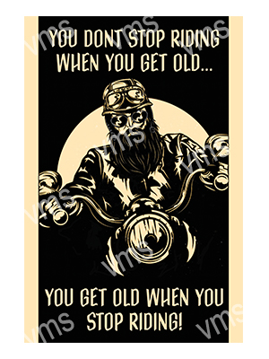 MBH032 – You Get Old – 12″x18″