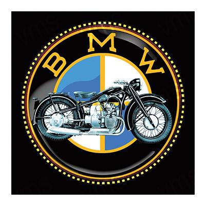 MBMW001 – Classic Logo – 12″x12″