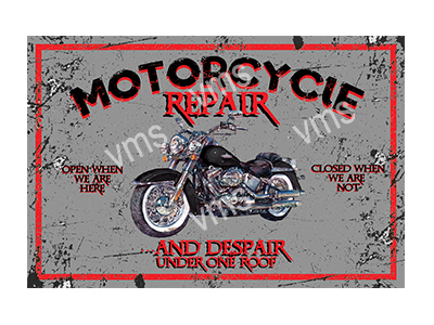 MBR001 – Motorcycle Repair – 18″x12″