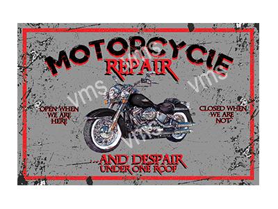 MBR001 – Motorcycle Repair – 18″x12″