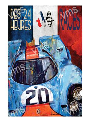 MSR010 – 24 Heures Races – 12″x18″