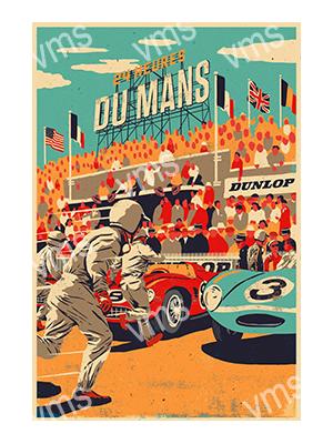 MSR012 – Du Mans – 12″x18″