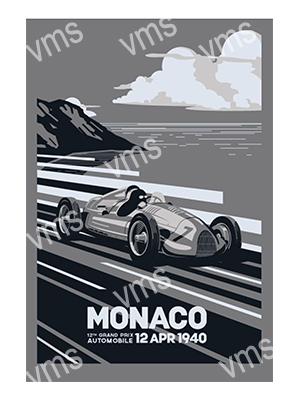 MSR013 – Monaco 12″x18″