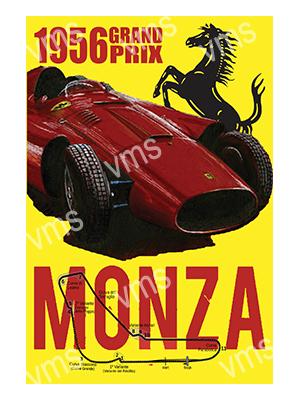 MSR017 – Monza 1956 – 12″x18″