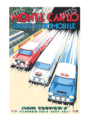 MSR025 – Monte Carlo – 12″x18″
