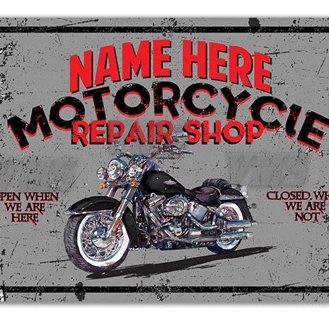 PERS009 Motorcycle Repair 16″x24″