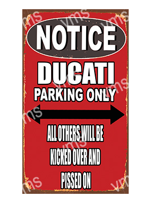 NTC003 – Parking Only – 8″x14″