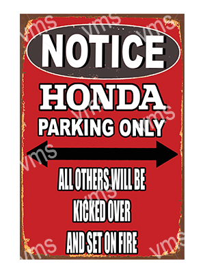 NTC006 – Parking Only – 12″x18″