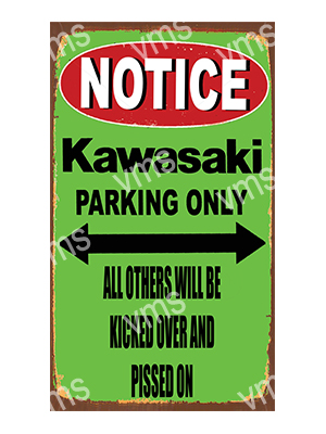 NTC009 – Parking Only – 8″x14″