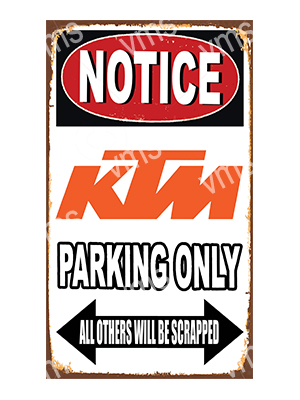 NTC011 – Parking Only – 8″x14″