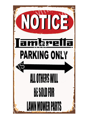 NTC012 – Parking Only – 8″x14″
