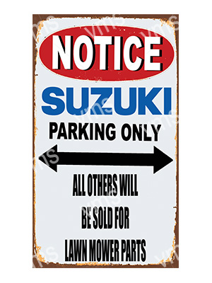 NTC016 – Parking Only – 8″x14″