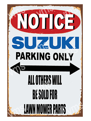 NTC017 – Parking Only – 12″x18″