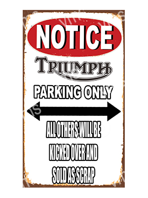 NTC018 – Parking Only – 8″x14″