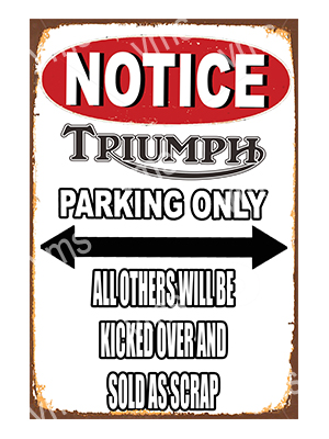 NTC019 – Parking Only – 12″x18″