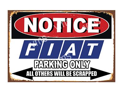 NTCC0011 – Parking Only – 18″x12″