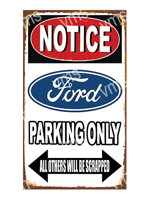 NTCC0014 – Parking Only – 8″x14″