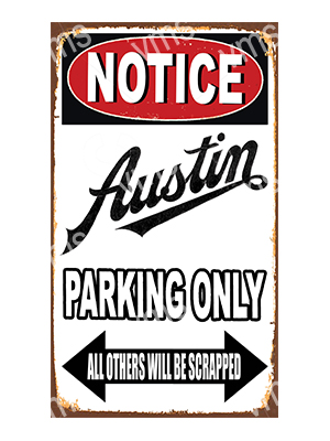 NTCC003 – Parking Only – 8″x14″