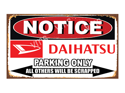 NTCC007 – Parking Only – 14×8