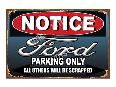 NTCC013 – Parking Only – 18″x12″