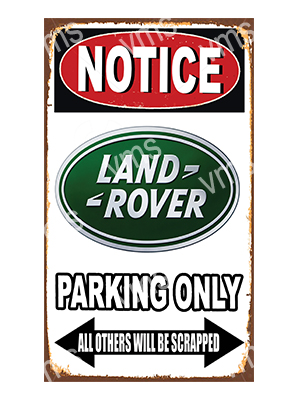 NTCC020 – Parking Only – 8″x14″