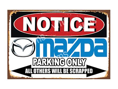 NTCC023 – Parking Only – 12″x8″