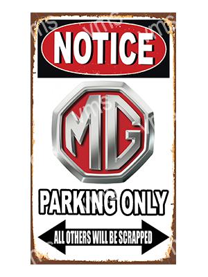 NTCC025 – Parking Only – 8″x14″