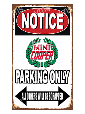 NTCC026 – Parking Only – 8″x14″