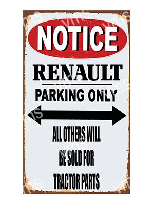 NTCC035 – Parking Only – 8″x14″