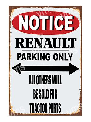 NTCC036 – Parking Only – 12″x18″