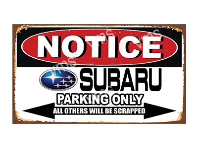NTCC038 – Parking Only – 14″x8″