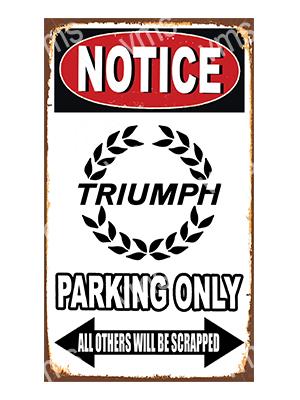 NTCC041 – Parking Only – 14″x8″