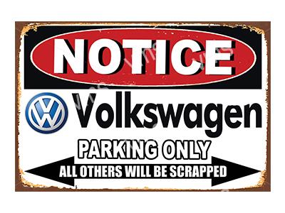 NTCC044 – Parking Only – 18″x12″