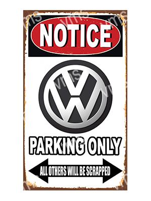 NTCC45 – Parking Only – 8″x14″