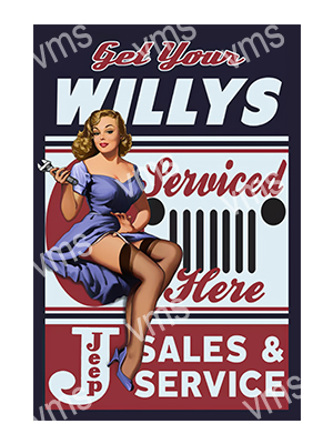 PIN010 – Willy Service – 12×18