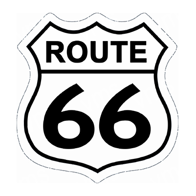 R66010 – Route 66 Shield – 29.5″x30.5″