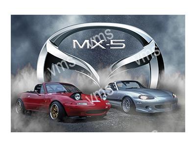 RMS001 – MX5 – 18″x12″