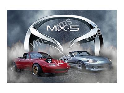 RMS003 – MX5 – 24″x36″