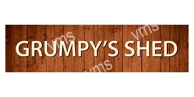 SHD001 – Grumpys Shed -4.5″x18″
