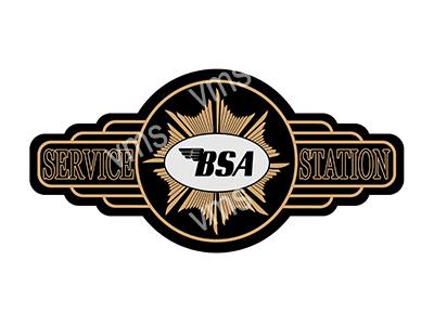 SSB001 – Service Station – 18″x9″
